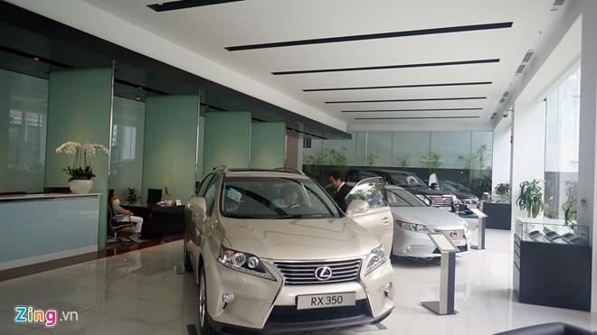 Các loại xe lexus đang được bán